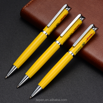 Wholesale pen custom sized projector logo advertising ball pen no MOQ