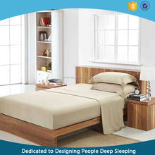 Soft Solid Bamboo fitted Bed Sheets from China Supplier