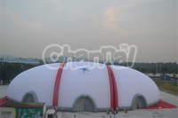 giant outdoor camping inflatable air dome tent