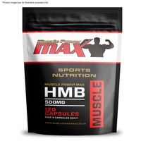 Muscle Power Max Foil Pack HMB 500mg High Strength Capsule Wholesale Diet Supplements