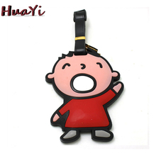 Cute Baby Cartoon Bag Tag Luggage Tag Baggage Name Label Suitcase Hanging Information Card Trave Accessoires