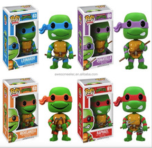 2017 Anime TMNT Funko POP Teenage Mutant Ninja Turtles Action Figure PVC Figure Doll Sets