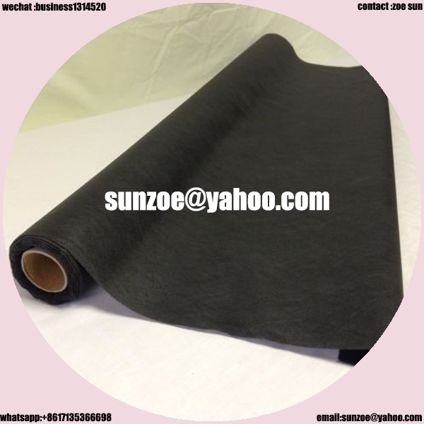 Customized plastic woven weed mat for anti grass with price