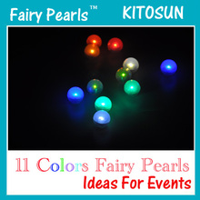 Small Magic Ball Light Battery Operated LED Light 11 Colors Option LED Floating Light