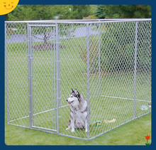 4*2.3*1.8 High quality metal cheap chain link dog kennels wholesale