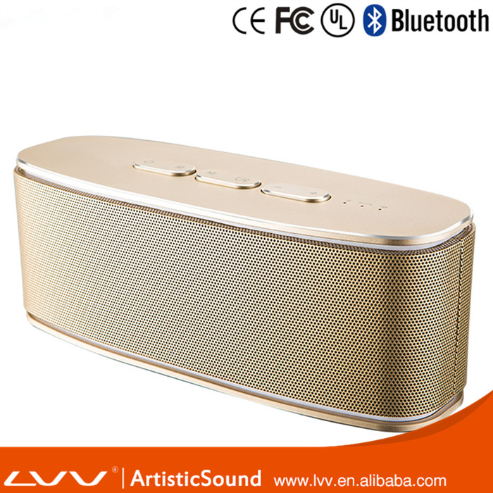 cheap Intelligent voice wireless metal Portable Bluetooth speaker