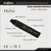 Kingtons Titan Titan-2 Hebe dry herb vape pen wholesale dry herb vaporizer from China hot sell in USA