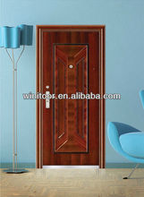 American matel door with steel frame,free six door,door steel door(WNT-ST484)