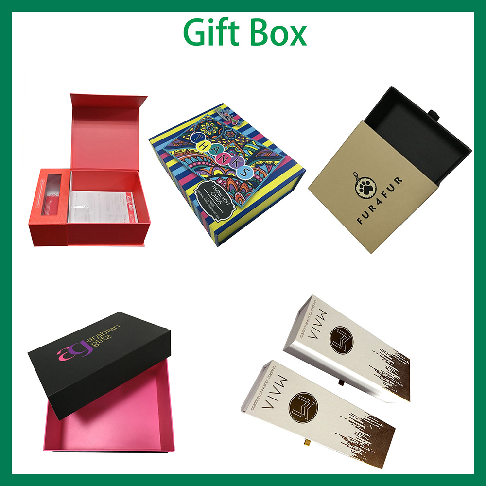 Corrugated box CMYK full color printing custom order