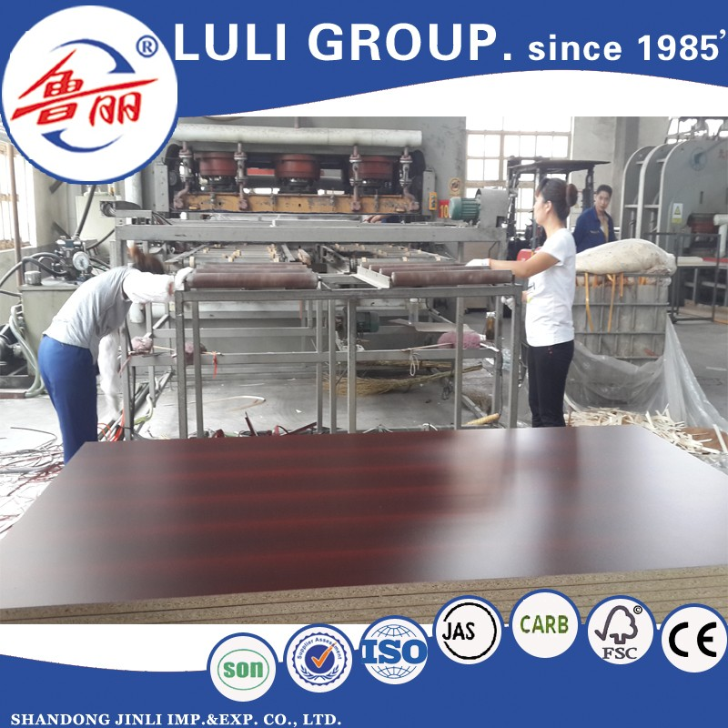 Laminated board with low price Particle Board