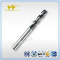 3 Flute Corner Radius Square Tungsten Carbide End Mill for Stainless Steel Milling