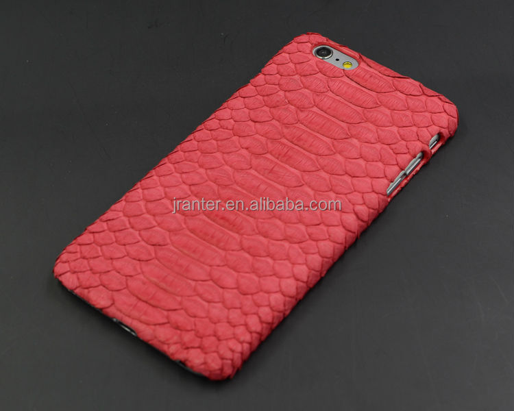 Custom Real Python Skin Leather Cover for iPhone 4s, for iPhone Mobile Cover