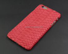Custom Real Python Skin Leather Cover for iPhone 6/6s/7/7plus, for iPhone Mobile Cover