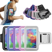 Adjustable SPORT Bag Case for Samsung GALAXY S5 Waterproof Jogging Arm Band Mobile Phone Cover