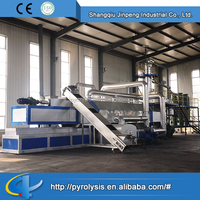 Used tire pyrolysis plant for sale rubber recycling machine