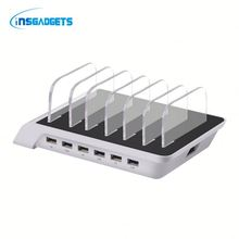 Multi-usb desktop charger eyLh0t 6 port usb charging station for sale