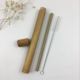 MBF Portable Natural Bamboo Straws Travel Case For Amazon