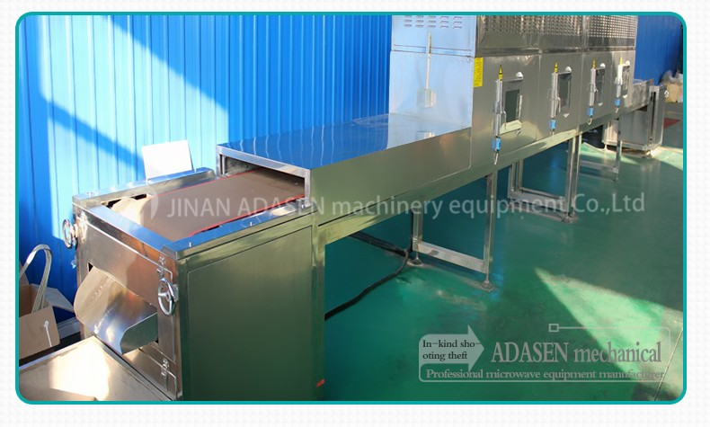 Microwave Sesame dryer and sterilization equipment