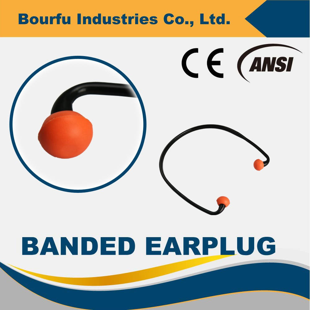 Quiet Band CE Approved Hearing Protection Banded Earplugs