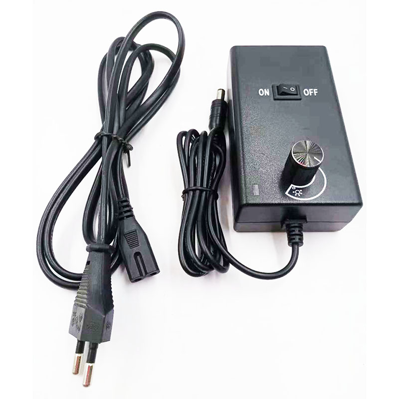 adjustable voltage ac dc power adapter  3-12v 2a 24w switching power supply for fan