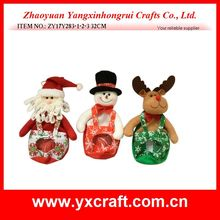 Christmas decoration (ZY17Y283-1-2-3 32CM) candy gift bag santa snowman