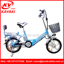 KAVAKI Supplier Direct Selling Super Power E-bike Brushless E-bicycle 16 Inch Three Wheel Motorcycle Bafang Motor Bikes