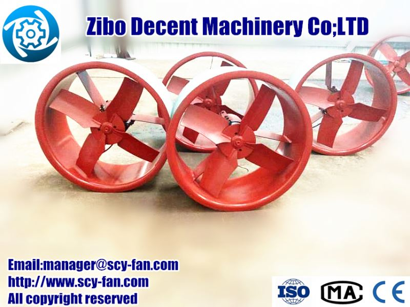low noise high pressure energy Mine ventilation Centrifugal Fan with cyclone dust extractor