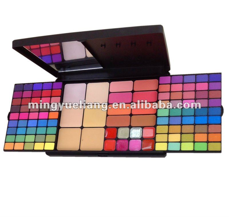 90 color eyeshadow & 8 blusher &6 face powder cosmetic set palette