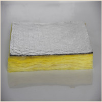 Building Construction Aluminium Foil Faced Thermal Insulation Glass Wool Board