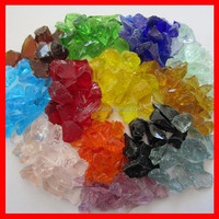 Color quartz glass sand for artificial quartz stone production