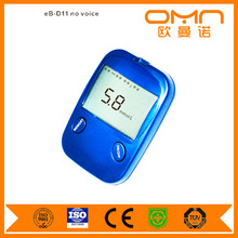 Non Invasive One Touch Quick Check Blood Glucose Meter Blood Analysis Device to Measure Blood Sugar