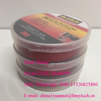 3M brand 35# Vinyl Electrical Adhesive Tape / 3M Scotch 35# color-codingn PVC insulation tape / 3M super 35# PVC electrical tape