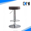 Simple Design Round Seat gas strut for bar stool with Footrest/unique furniture