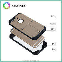 PC Hard Kick Stand Armor Case with pet screen phone Cover for iphone 6 6S
