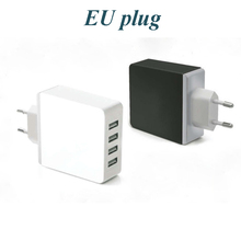 High quality universal 4 port usb wall charger with 4 usb output for home use