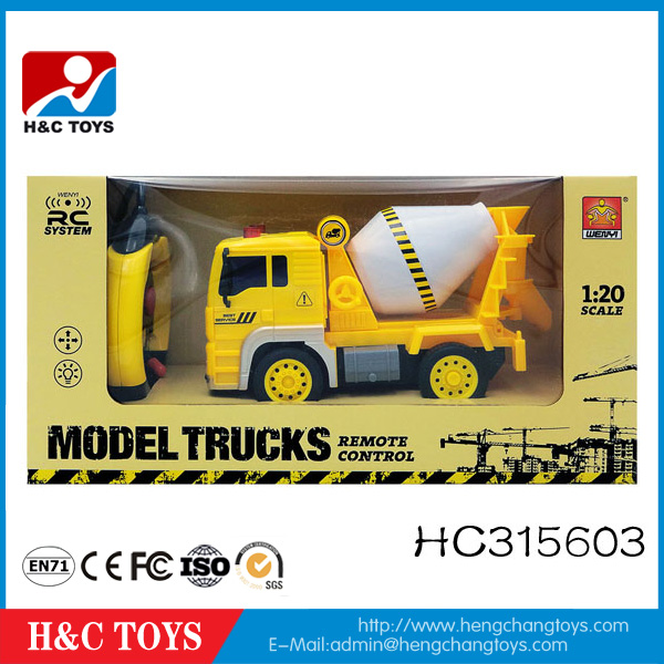 Kids Radio Control Toys 1:20 4ch RC Toy Truck With Light HC315603