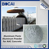 AAC block, aerated concrete, light beton, gas added brick application aluminum powder paste