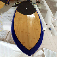 china manufacturer best quality bamboo veneer sup stand up paddling board