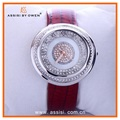 Assisi brand Diamond watch Masonry jewellery case elegant high quality lady watch