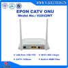 1GE+1FE+WiFi+RF GEPON CATV ONU with Single Fiber Input for FTTH Triple Play Network Solution