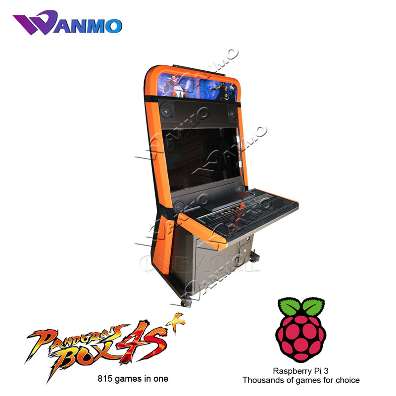 2017 hot sales Arcade Taito Vewlix-l cabinet with Raspberry or Pandora Box 4S+ 815 games in one