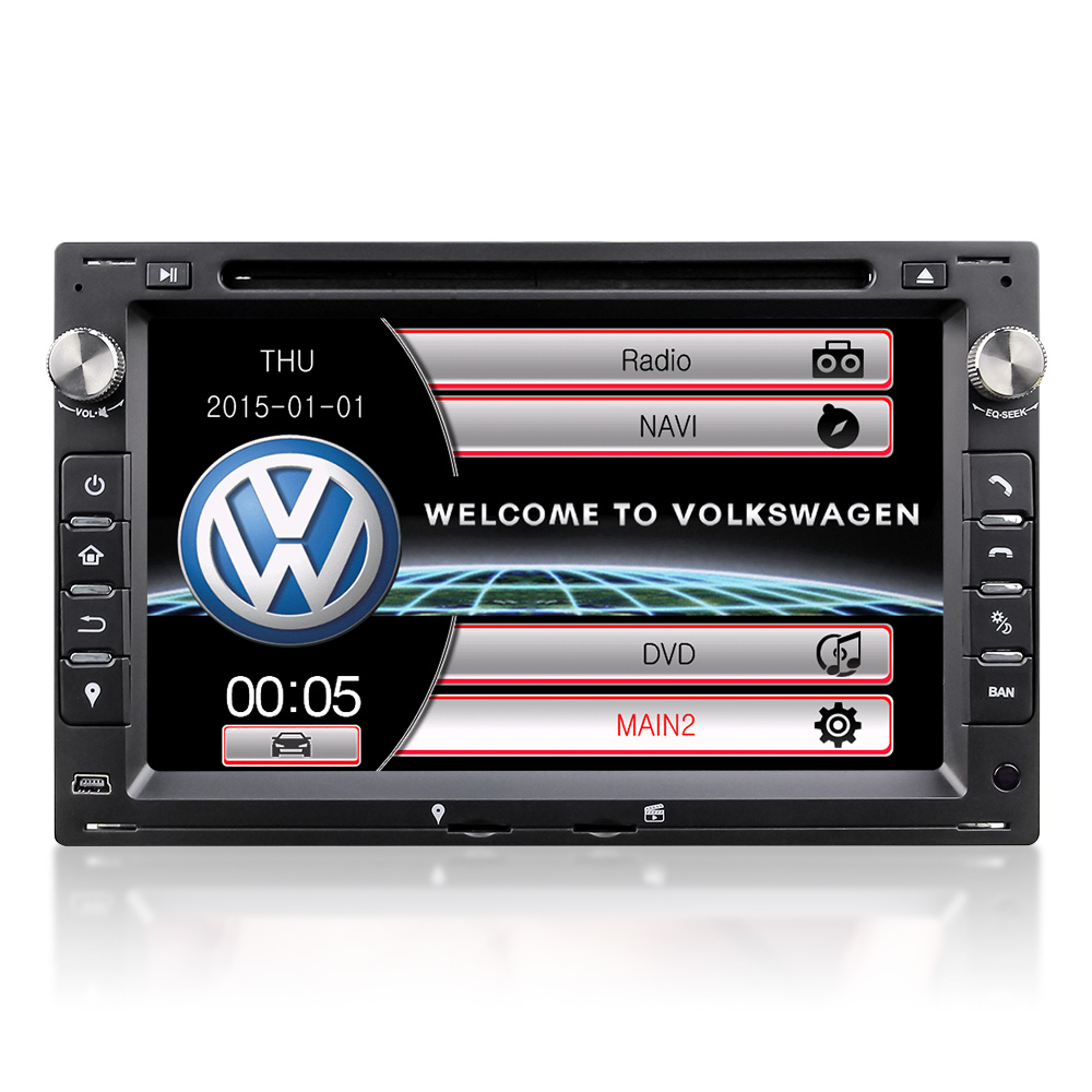 Winmark 7 Inch 2 Din Special Car Audio DVD Player Stereo For VW Bora Polo Passat B5 Sharan Citi Chico Lupo