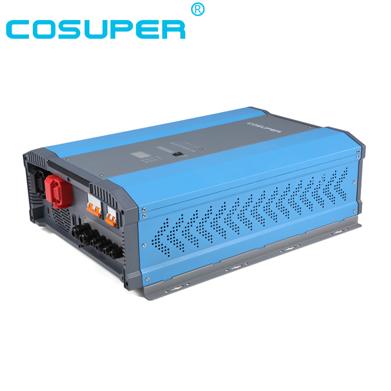 solar MPPT charge controller inverter for solar system 48vdc 240vac 12kva