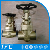 Cheap aluminium bronze flow control gate valve for sea water