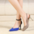 2017 New Arrival Detachable Heel Shoes Heel removable Shoes lady Changeable Heels shoes women