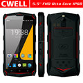 4G Lte NFC Function 5.5 Inch FHD Octa Core 4GB/64GB Waterproof Rugged IP68 Smartphone