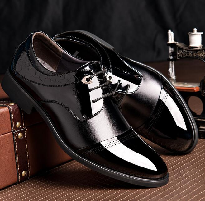 zm11219a new design lace-up men's leather shoes wholesale dress shoes for men