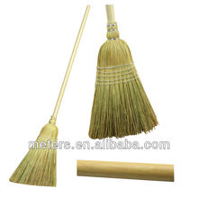 5 Stitches American Market 100% Heavy Duty Cleaning Corn Broom