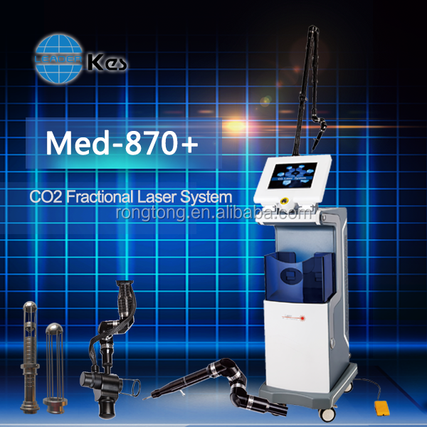 medical co2 fractional laser anti cellulite scar removal equipment