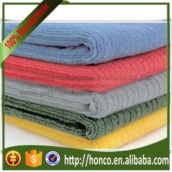 High Quality Microfiber / Microfibre Stripe Warp / Terry cloth